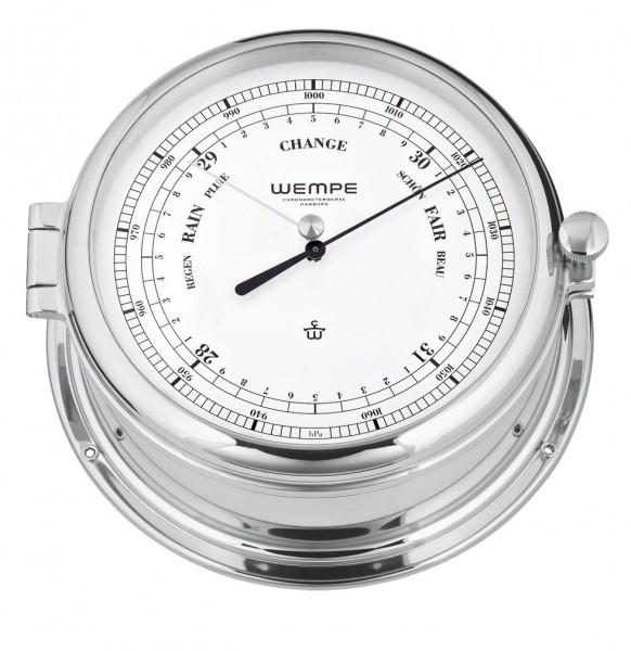 Barometer Admiral -II Messing verchromt