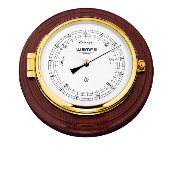 Barometer SKIPPER Messing/Mahagoni