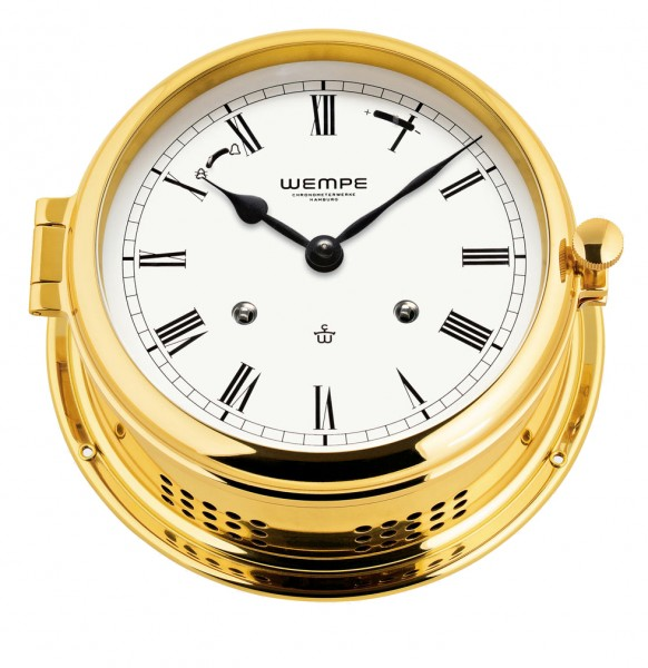 Glasenuhr Admiral -II Messing