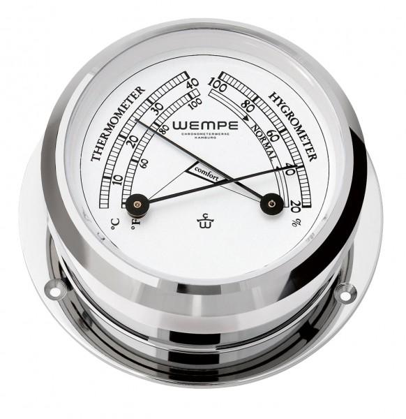 Comfortmeter PIRAT II Messing verchromt