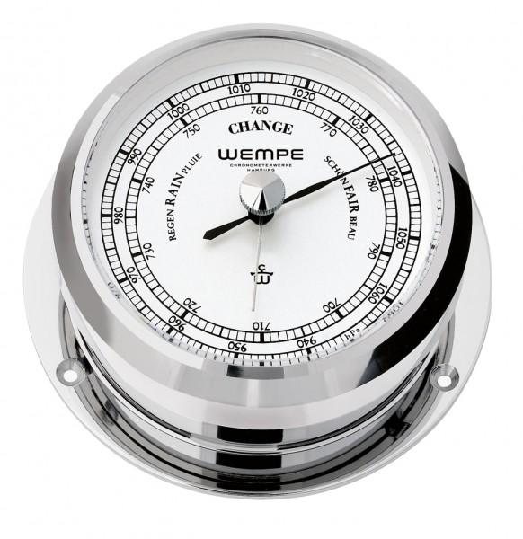 Barometer PIRAT II Messing verchromt