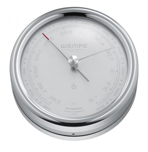 Barometer PILOT IV Edelstahl poliert