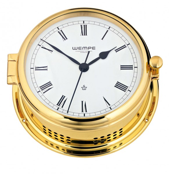 Quarz-Glasenuhr Admiral -II Messing